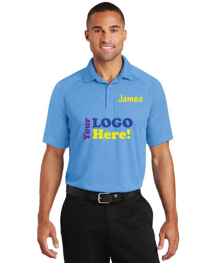 Polo shirt company logo arts arts for Polo shirt with company logo