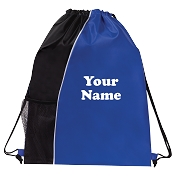 Individually Personalized<br>Drawstring Backpack