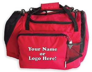 Individual Personalized<br>or logo'd<br>Gear Bag<br>