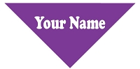 Individually Personalized<br> Pet Bandana 14