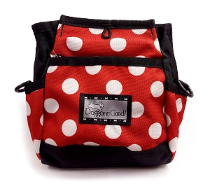 Limited Edition Rapid Rewards Pouch <br> Red & White Polka Dots