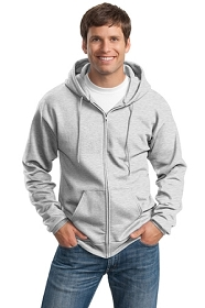 Personalized Mens Fleece Full-Zip Hooded Sweatshirt