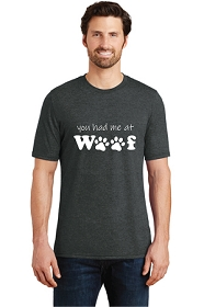 You Had Me At Woof Mens T-Shirt
