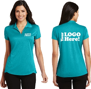 Ladies Trace Heather Polo Shirt