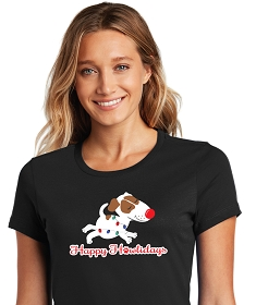 Holiday Design Womens Shirts - Scoop Neck