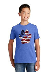 Paw Flag Youth Shirt