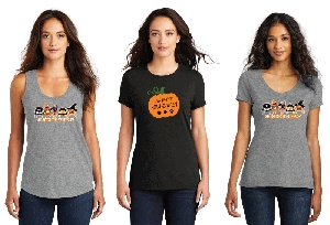 Halloween Design Womens Shirts