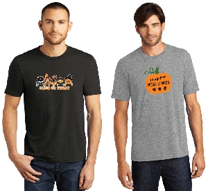 Halloween Designs Mens Scoop Neck