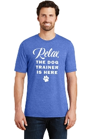 Relax Dog Trainer Mens Scoop Neck