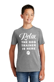 Relax Dog Trainer Youth Shirt