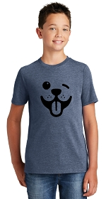Dog Winky Face Youth Shirt
