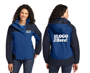 Personalized Ladies Waterproof Jacket