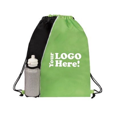 Your Logo Drawstring Backpack