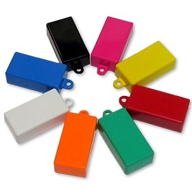 Blank SOLID COLOR Clickers (SAME COLOR TOP/BOTTOM)