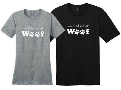 You had me at Woof Shirts